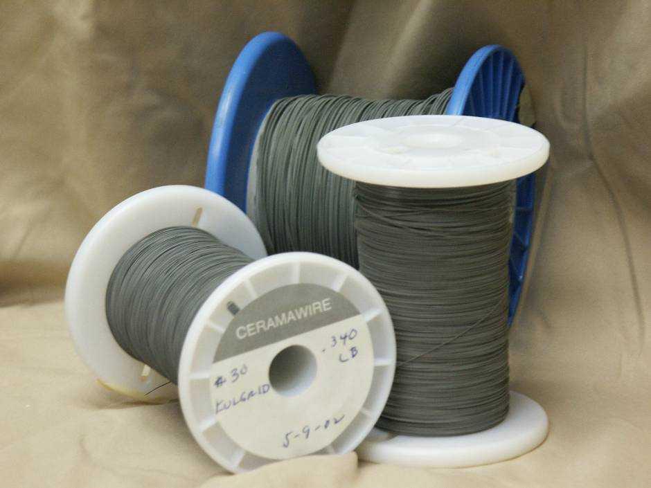 Ceramawire - Ceramic Coated High Temperature Magnet Wire on